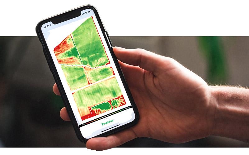 Prestatiekaarten 2020 nu beschikbaar in de FieldScout app