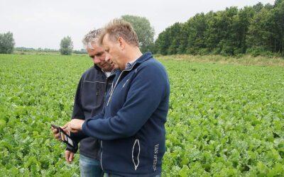 AKKERWEB: Met de Fieldscout-app het 'filmpje' van de gewasgroei tijdens het seizoen volgen